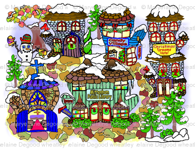 Mittenham_Christmas_village_8