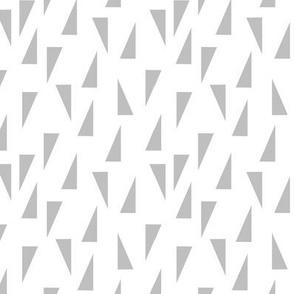 Triangle Confetti - Light Gray