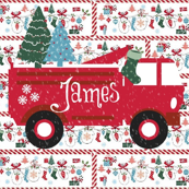 Mitten Party Fire truck  Personalized