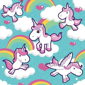unicorns & rainbows