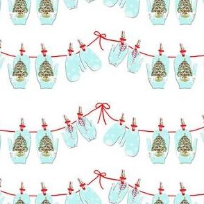 Christmas Mitten Garland