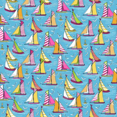 seagulls and sails springtime smaller