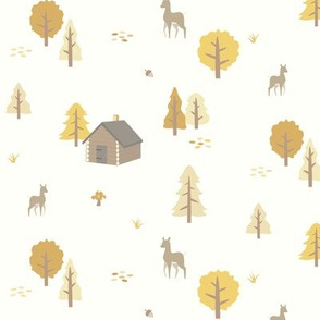 Forest Cabin - Autumn