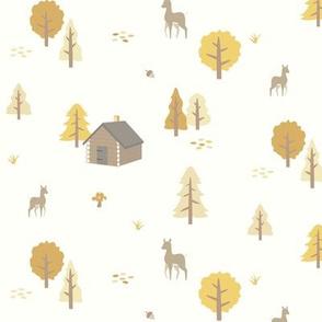 Forest Cabin - Autumn