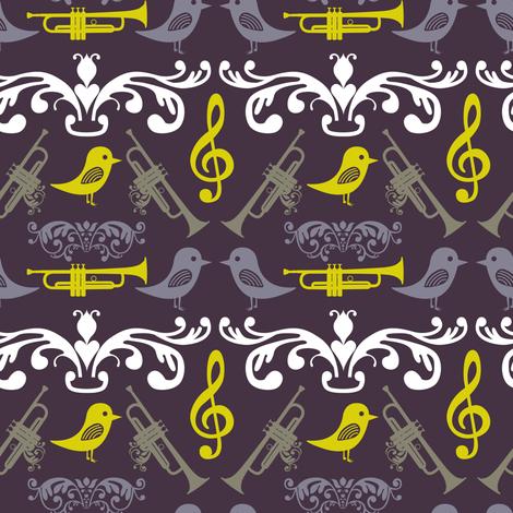 Trumpet and Bird
