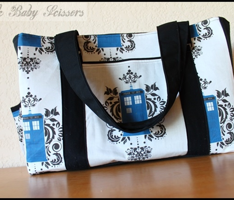 Doctor Who Damask