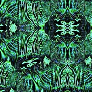 Egyptian Swirls 2 (Mirrored)