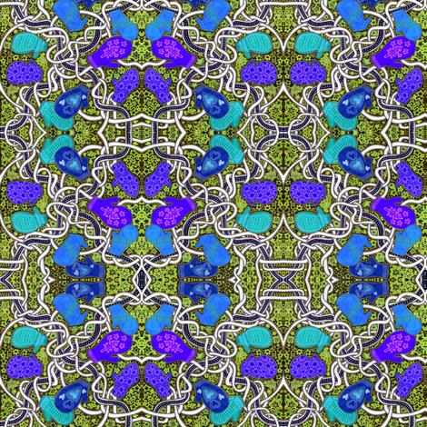 Knittin' Mittens fabric by edsel2084 on Spoonflower - custom fabric