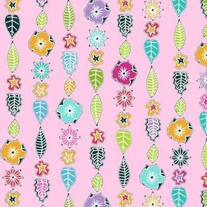 springtime little cloisonne flowers