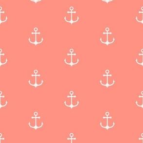 Anchor - Coral