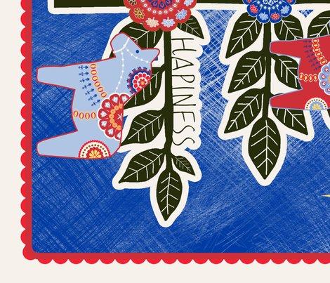 Sapin de noel mural nuit fabric nadja petremand - Stickers sapin de noel design ...