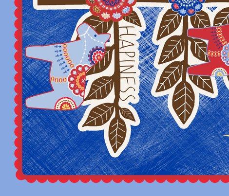 Sapin de noel illustration brun fabric nadja petremand - Stickers sapin de noel design ...