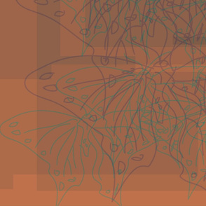 butterfliesorange