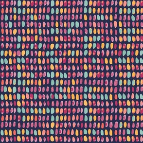 colored grains seamless pattern