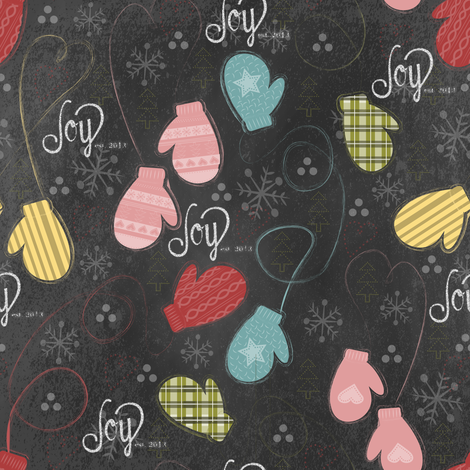 CityMittens fabric by tarabehlers on Spoonflower - custom fabric