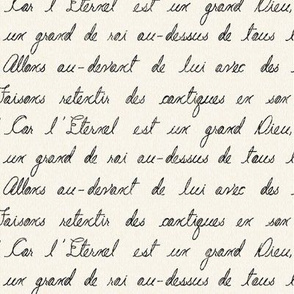 Grand French Script