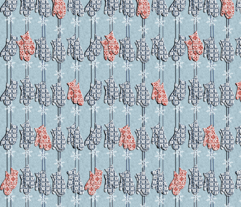 patterned gloves fabric by weejock on Spoonflower - custom fabric
