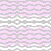 Pink wavy lines