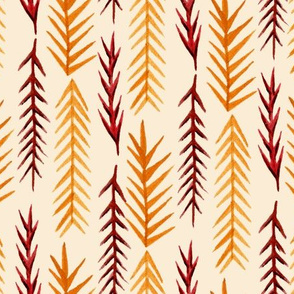 Autumn Pine Leaves