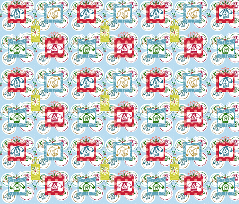 Sweater Wonderland Gifts fabric by drapestudio on Spoonflower - custom fabric