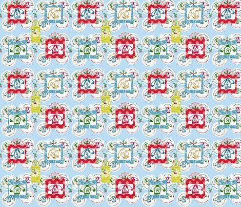 Sweater Wonderland Gifts fabric by drapestudio on Spoonflower - custom fabric