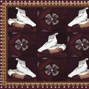 Wedding Shoes Quilt Block