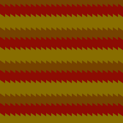 Jagged Edge Horizontal Stripe