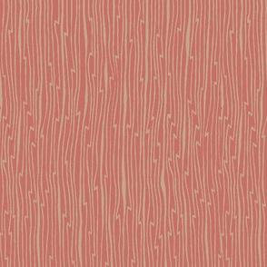 Crane coordinate - taupe/pink