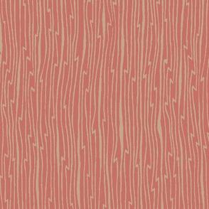 Crane coordinate - taupe/rose