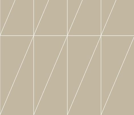 Neutral Triangle Pattern by Friztin fabric by friztin on Spoonflower - custom fabric