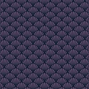 Hummingbird Scallop in Purple
