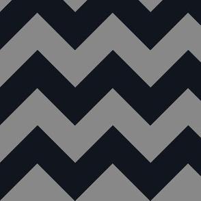 Chevrons Black & Gray