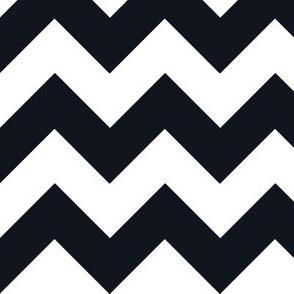 Chevrons Black & White