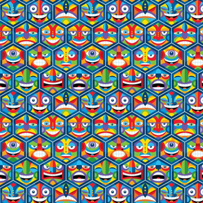 Hex_Heads_Pattern