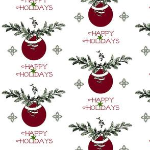 Happy Holidays Palm Tree-ch