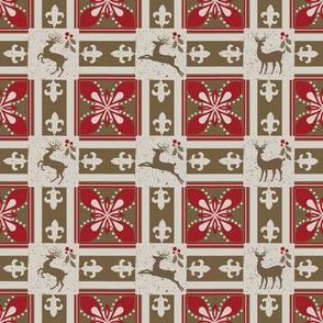 parisian block reindeer