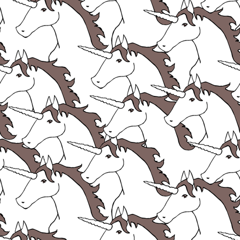 Unicorn Stampede fabric by pond_ripple on Spoonflower - custom fabric