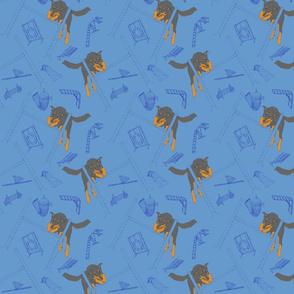 Agility Beaucerons - blue