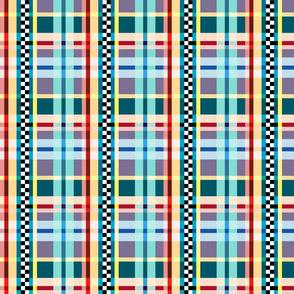 Checkerboard Plaid