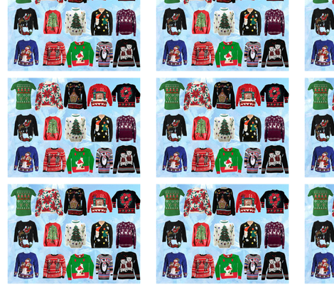 Aunt_Marys_Sweaters fabric by sweetness1 on Spoonflower - custom fabric
