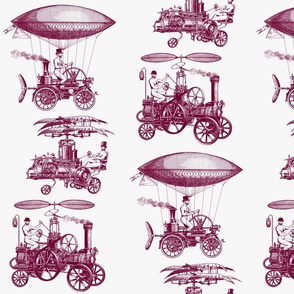 steampunk flying devices