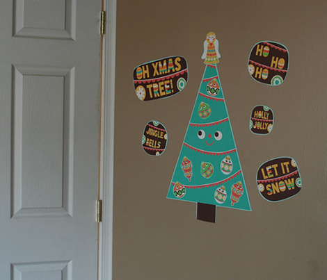 Xmas Tree Decals
