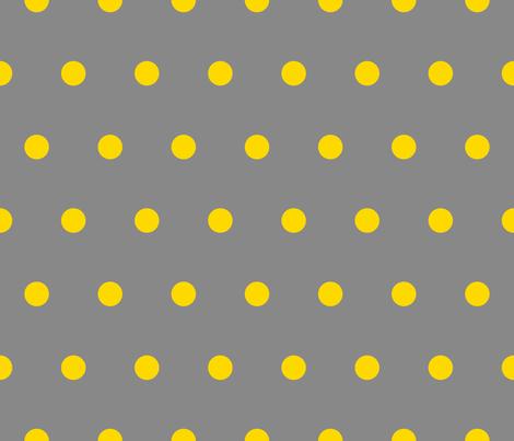 Polka Dot - Yellow on ...