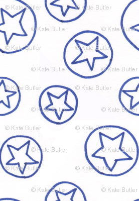 Blue Stars and Circles