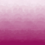 Ombre Clouds and Mural in Raspberry