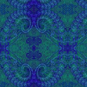 Nautilus Nights-green/blue