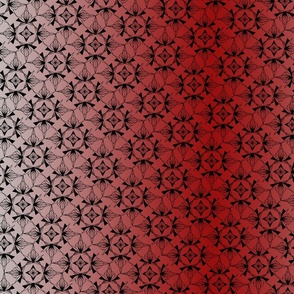 Snowflake Red Gradient