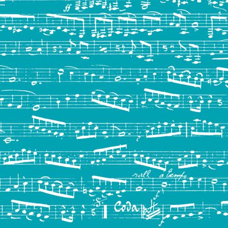 Turquoise Sheet Music