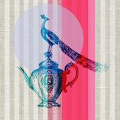 A regal cup of tea (in fuschia)