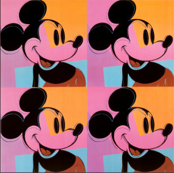 Mickey Mouse Disney Pop Art Warhol